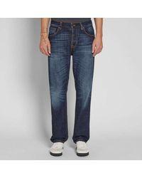 Nudie Jeans Sleepy Sixten Authentic Dark L32 - Blue
