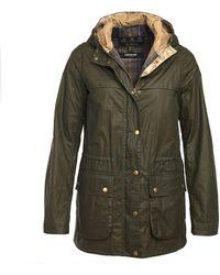 Barbour Lightweight Durham 4oz Wax Jacket Archive Olive - Green