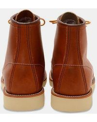 Red Wing Chaussures Gold Legacy Classic Moc 875 - Marron