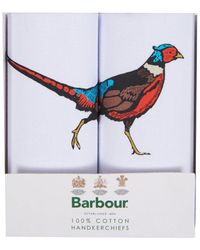 Barbour Pañuelos de faisán MAC0333WH111 - Blanco