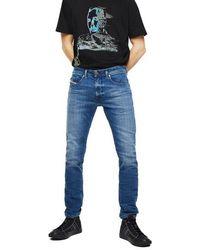 DIESEL Thommer X 97 X Stretch Slim Jeans Light Blue