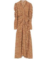 By Malene Birger Https://www.trouva.com/it/products/by-malene-birger-peachy-cles-maxi-dress - Marrone