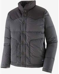 Patagonia Bivy Down Dark Gray Down Jacket
