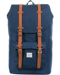 Herschel Supply Co. Little America Navy Rucksack - Blau