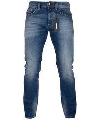 DIESEL Thommer 89 Ar Jeans slim fit blu medio