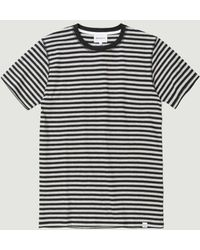 Norse Projects Niels Classic Stripe SS - Multicolore