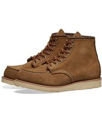 """Red Wing Red Wing 8881 Heritage Work 6 """"Moc Toe Boot Olive Mohave - Marrón"""