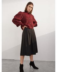 SELECTED Iva Cardigan - Red