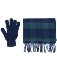 Barbour - Scarf & Glove Gift Set - Lyst