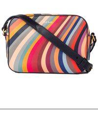 Paul Smith Https://www.trouva.com/it/products/paul-smith-swirl-print-leather-cross-body-bag-multicolour - Multicolore