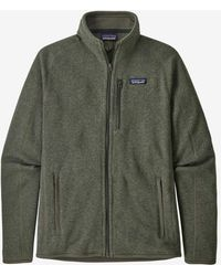 Patagonia Camisa tipo suéter Ms Better para hombre - Verde