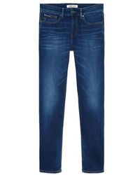 Tommy Hilfiger Https://www.trouva.com/it/products/tommy-hilfiger-ryan-relaxed-straight-jeans-aspen-dark-blue-stretch