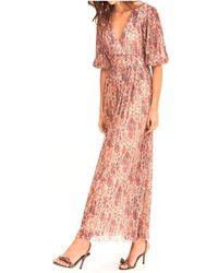Ba&sh Vestido Mujer Athena - Multicolor