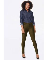 NYDJ - Alina Legging Olive Mfskls 2402 - Lyst