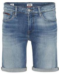 Tommy Hilfiger Tommy Jeans Scanton Slim Short Mid - Bleu