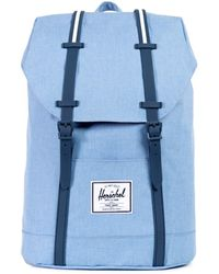 Herschel Supply Co. Zaino Retreat Rubber - Blu