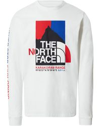 The North Face L S Tee K 2 Rm Tnf White