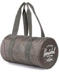 Herschel Supply Co. Packable Duffle Suitcase Spring Rain - Grey