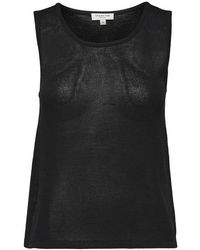 SELECTED - Haut en tricot noir lune - Lyst