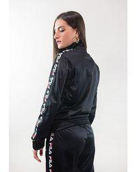 Fila Strap Track Woman Shirt - Black