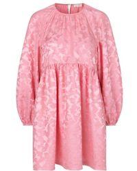 Stine Goya Vestido Kelly Pink - Rosa