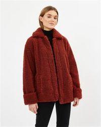 Minimum Lasselia Outerwear Jacket - Red