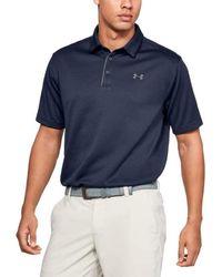 Under Armour Polo Golf Tech Uomo - Blu