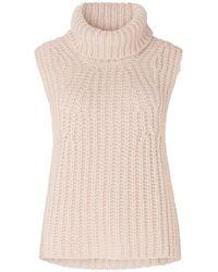Second Female Ivory Knit Vest - Natural
