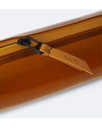Rains Shiny Amber 1662 Pencil Case Mini - Brown