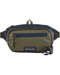 Patagonia Ink Black Ultralight Hole Mini Hip Pack 1l - Green