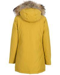 Woolrich Arktischer Parka DF Satin Yellow von W. - Gelb