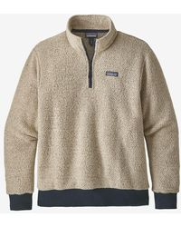 Patagonia Pullover Hombre Avena Heather Fleece Woolyester - Multicolor