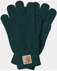 Carhartt Uhr Handschuhe Frasier - Grün