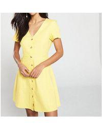 Vero Moda Gelbes Sonnenkleid