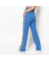 Fila Pantalones deportivos de mujer Marine Thora con rayas de colores - Azul