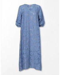 Becksöndergaard Floret Celia Dress Eventide - Blue