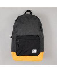 Herschel Supply Co. Herschel Settlement Backpack In Black Orange