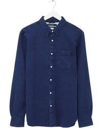 French Connection True Indigo Shirt - Bleu