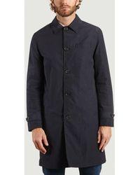 Oliver Spencer Beaumont Trench Coat - Black