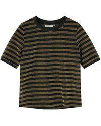 Minimum Black Ulrikka T-shirt - Green