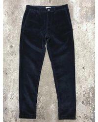 SELECTED Slim Fit Corduroy Pants - Blue