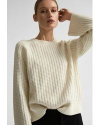 SELECTED - Cadre Ls Knit Crew Neck - Lyst