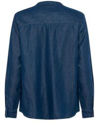 Great Plains Camisa Core Chambray - Azul