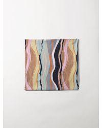 Becksöndergaard Organic Tie Dye Scarf - Multicolor