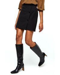 Minimum Faluna Short Skirt E54 - Black