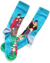 Happy Socks The Beatles Socks - Azul