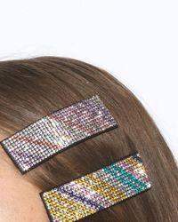 Becksöndergaard Pince à cheveux Simili - Multicolore