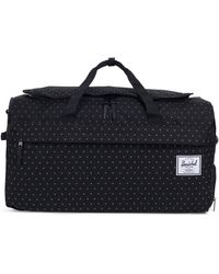 Herschel Supply Co. Black Gridlock Outfitter Luggage Bag