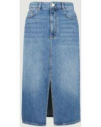 Ba&sh Dona Skirt - Blue