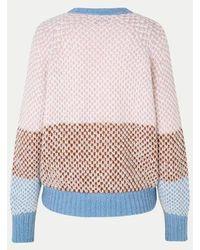 Second Female Bertie Knit Cardigan - Multicolour